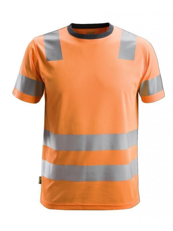 T-shirt haute visibilité, AllroundWork, Classe 2 SNICKERS 2530