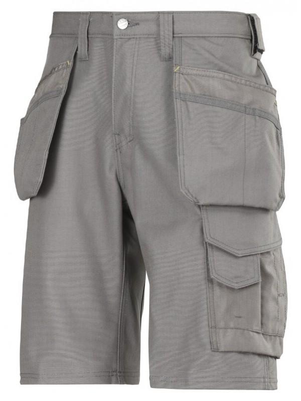 Short d'artisan avec poches holter Canvas + gris