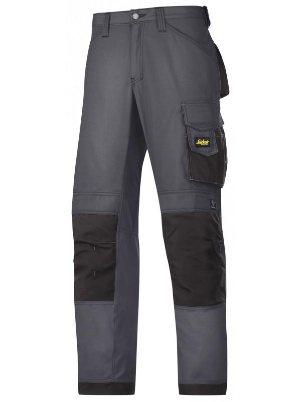 Pantalon d'artisan Ripstop gris acier