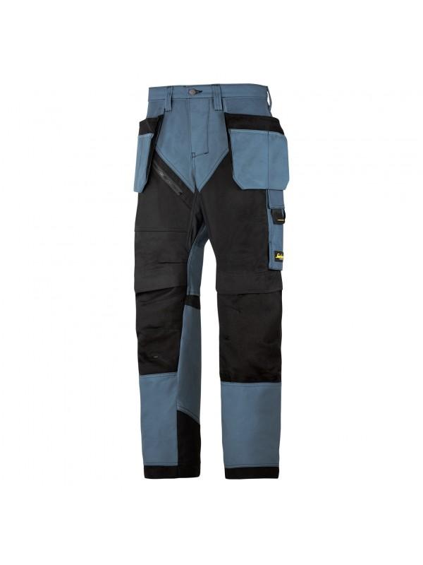 Pantalon de travail poches holster, RuffWork bleu