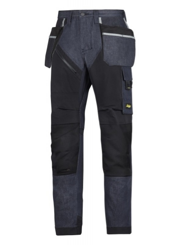 Pantalon de travail avec poches holster, RuffWork Denim SNICKERS 6205