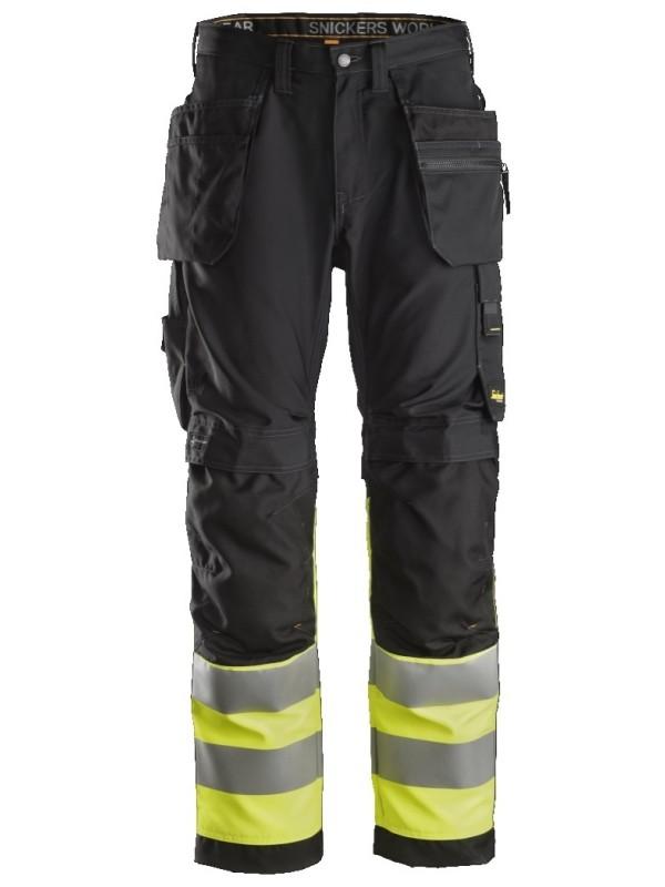 Pantalon+ haute visibilité avec poches holster, Classe 1 SNICKERS 6233 Série 6