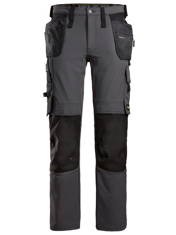 AllroundWork, Pantalon en tissu extensible avec poches holster 6271 SNICKERS
