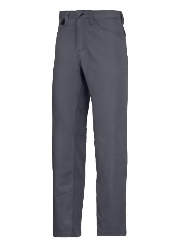 Pantalon de service chino gris acier