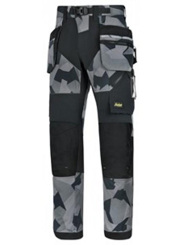 Pantalon de travail poches holster+, FlexiWork gris