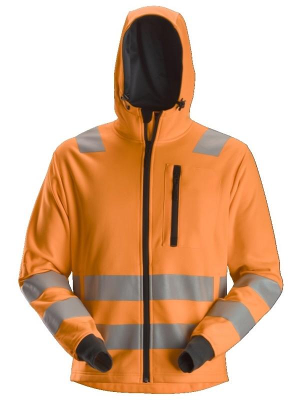 Sweat-shirt à capuche zippé haute visibilité, Classe 2/3 SNICKERS 8039