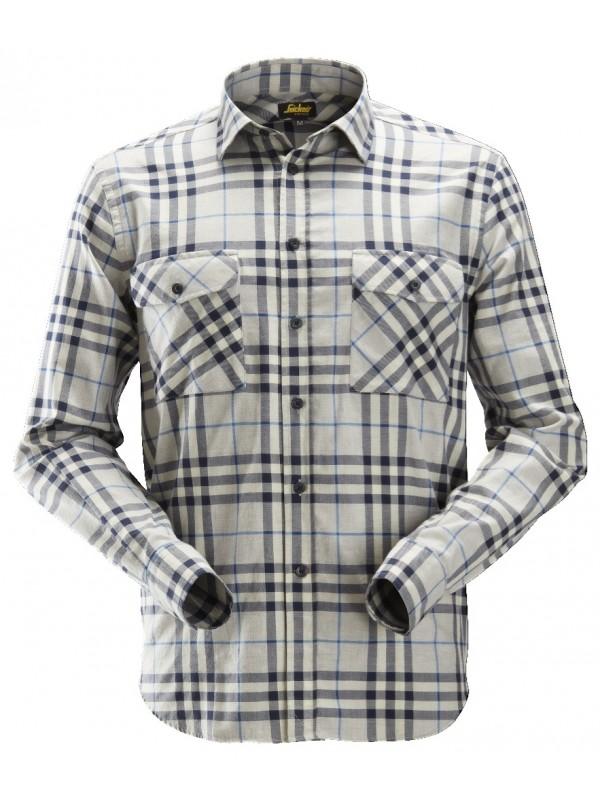 Chemise à carreaux à manches longues en flanelle SNICKERS 8516
