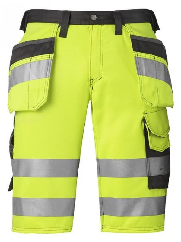 Short haute visibilité avec poches holster, classe 1 SNICKERS 3033
