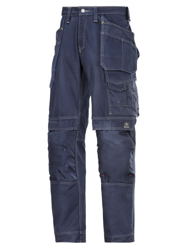 Pantalon d'artisan avec poches holster, Confort Coton SNIKCERS 3215  Série 3