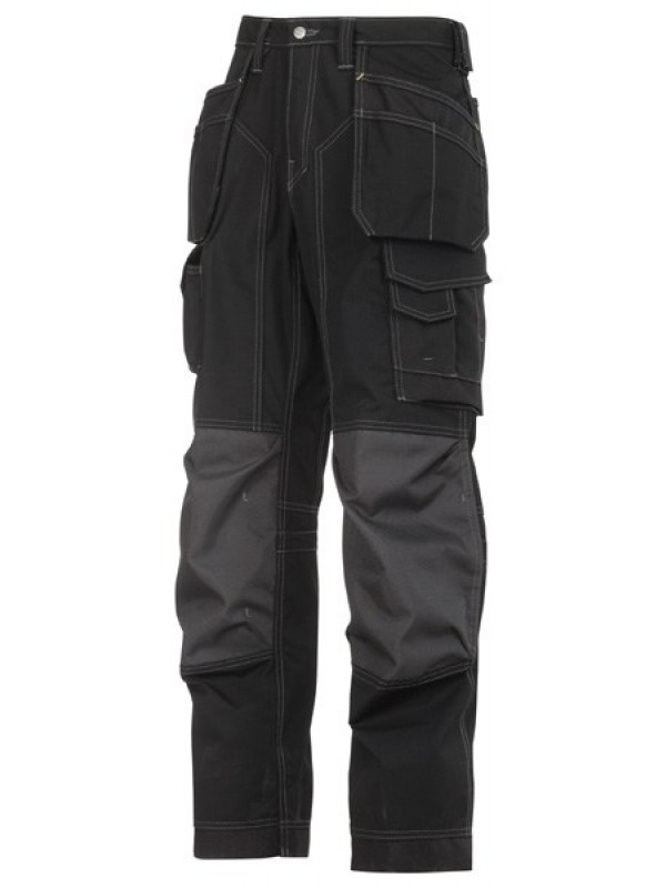 Pantalon pour poseur de sols avec poches holster, Rip-Stop SNICKERS 3223  Série 3