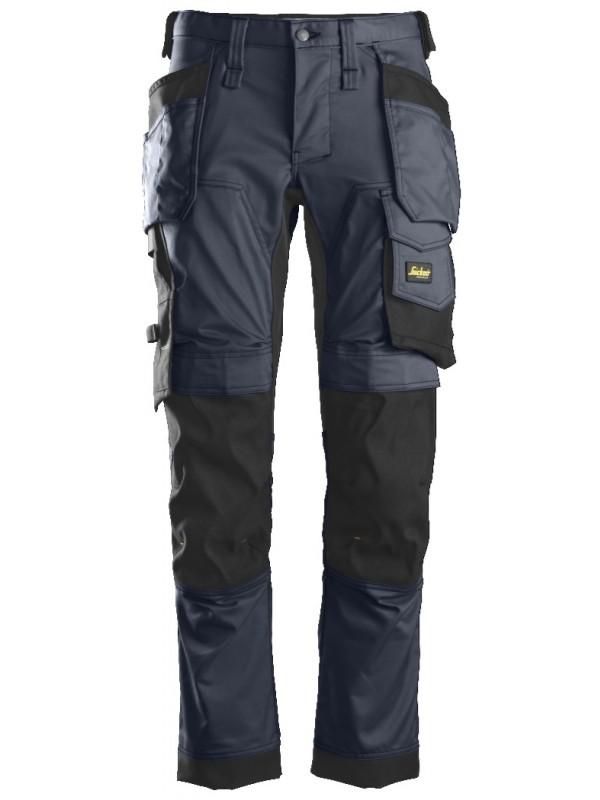 Pantalon Stretch avec poches holster AllroundWork, SNICKERS 6241 Série 6